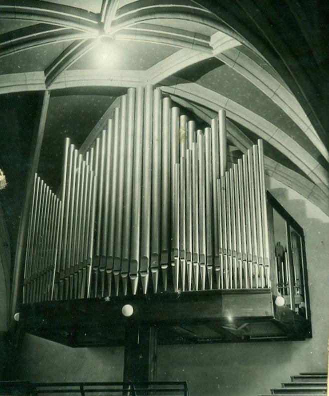 1. Orgel von Gregor Hradetzky II.: Orgel Kirnberg/Mank 1949