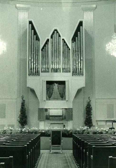 Wiener Konzertaus, Mozartsaalorgel Hradetzky 1964